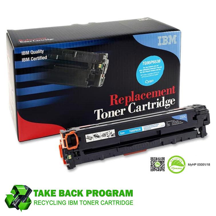 IBM® Compatible HP 125A & Canon 316C / CB541A Laserjet