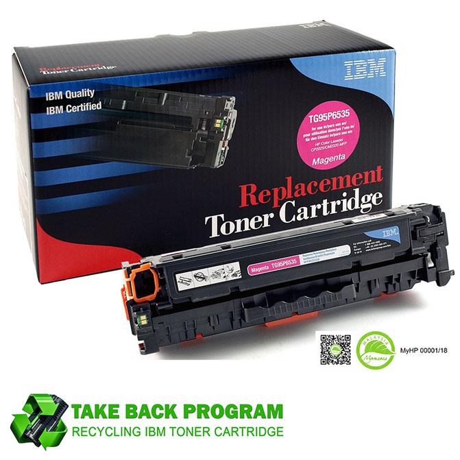 IBM® Compatible HP 304A & Canon 318M / CC533A Laserjet