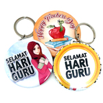 Button Badge Keychain