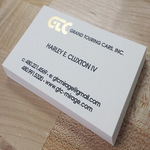 Business cards metallic cards reheart Image collections