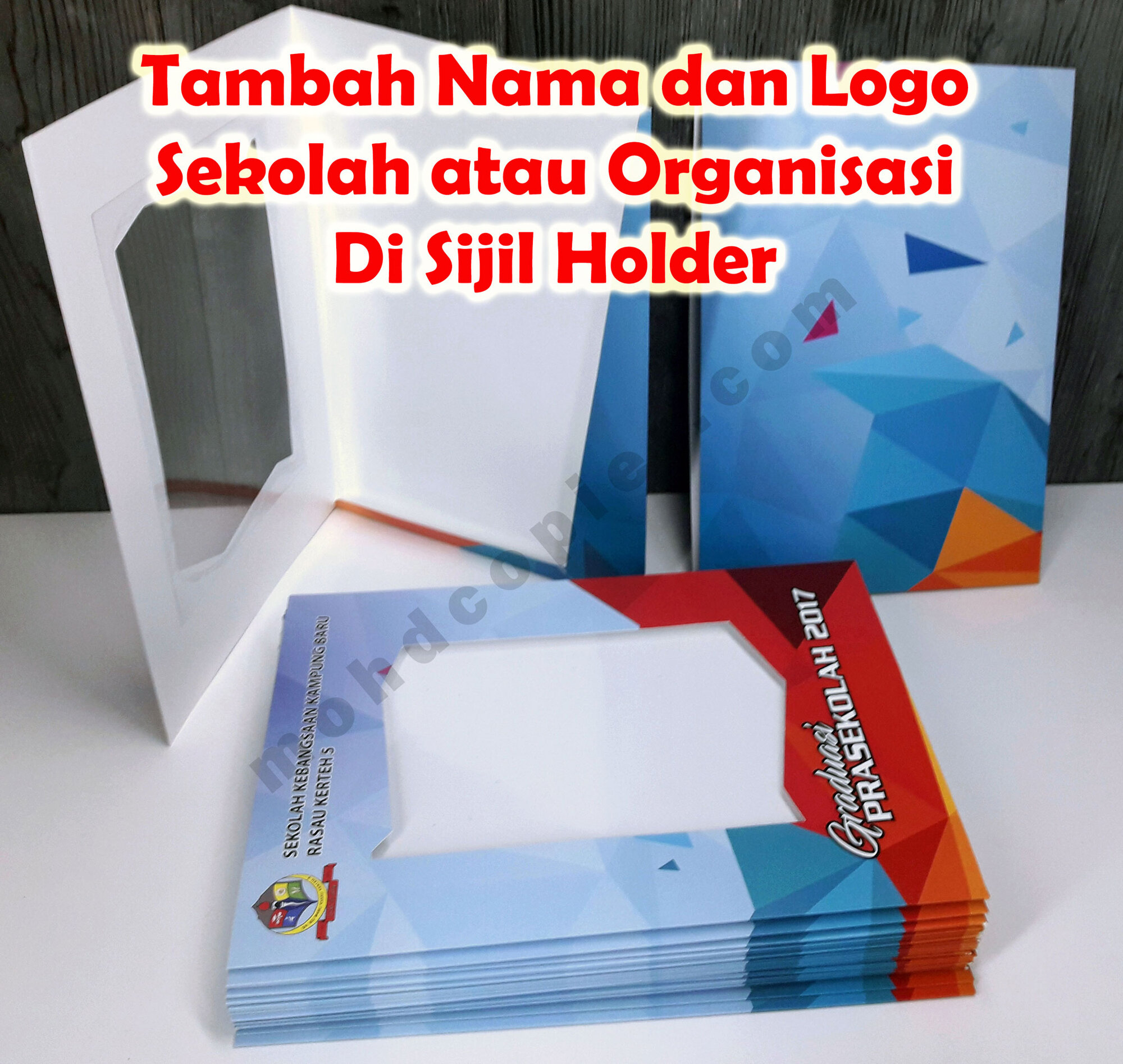 Certificate Holder (Soft Cover)