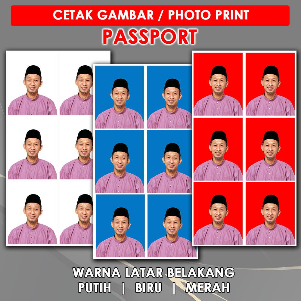Passport Photo Print