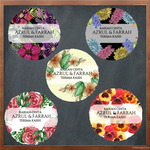 Wedding Sticker-Round